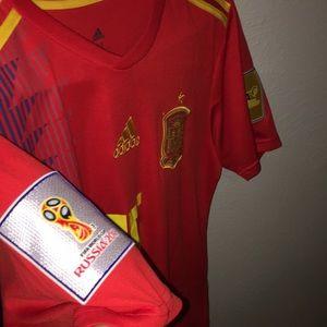Sergio Ramos World Cup Spain jersey
